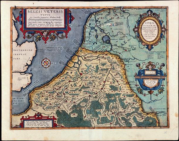 oude kaart nederland West Friesland op oude kaarten